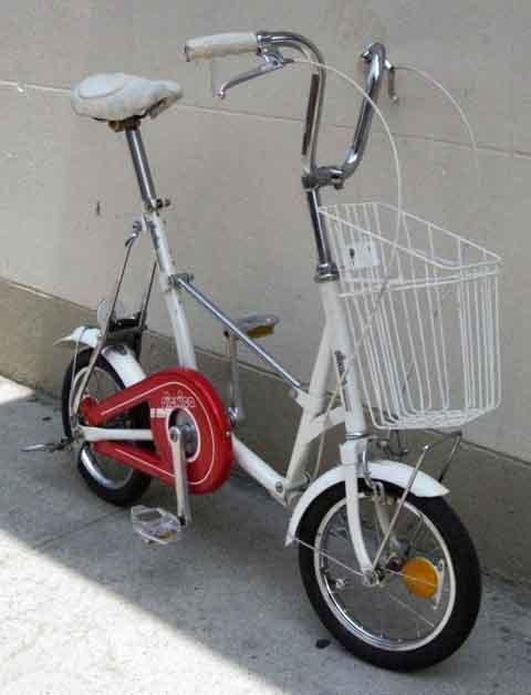 Bikecult Bikeworks Nyc Archive Bicycles Bridgestone Picnica Folder