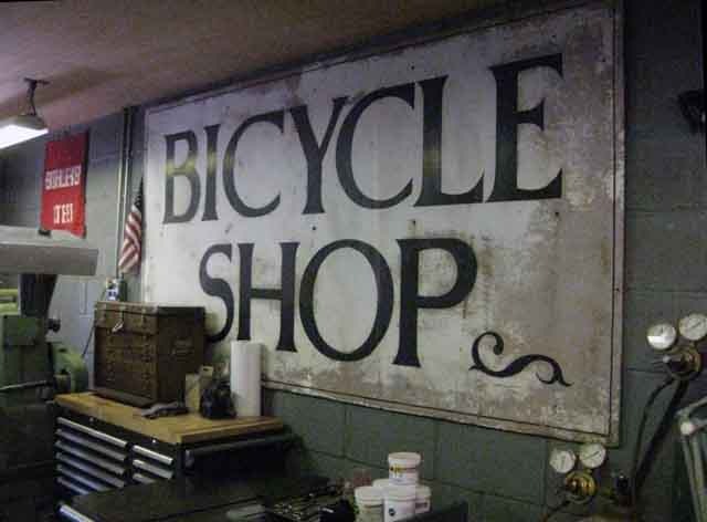 bikecult/bikeworks nyc/archive bicycles/jamie swan frame shop