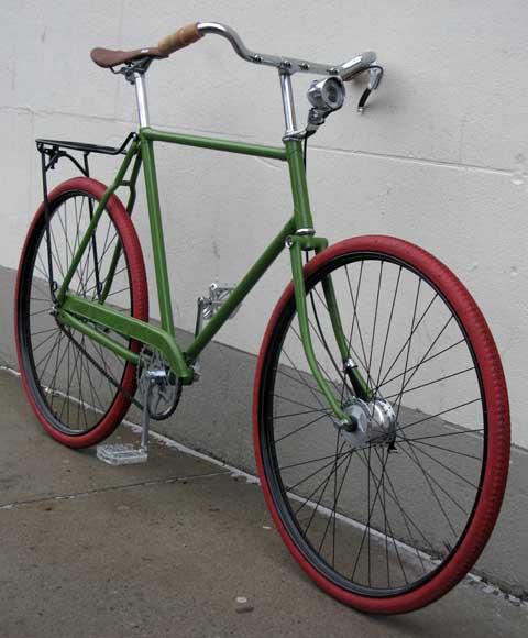 bikecult/bikeworks nyc/archive bicycles/raleigh DL1 roadster