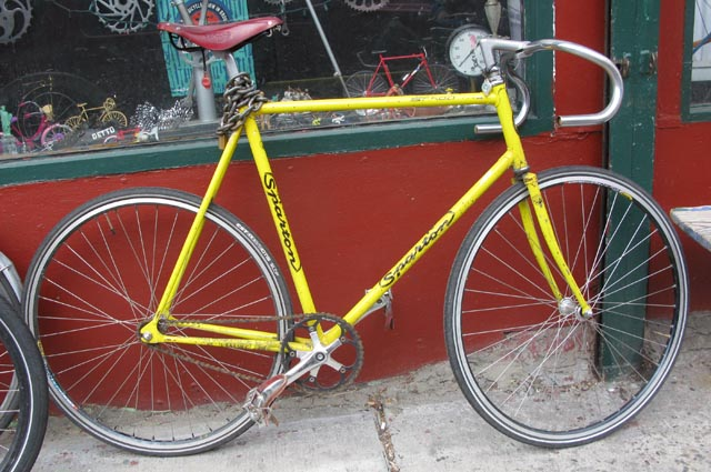sparton st 500 bikecult bikeworks nyc archive bicycles sparton st 500 track