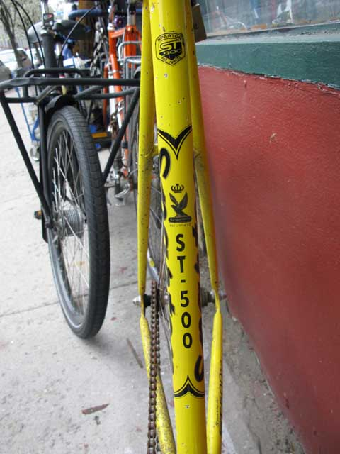 sparton st 500  bikecult bikeworks nyc archive bicycles sparton st 500 track #8