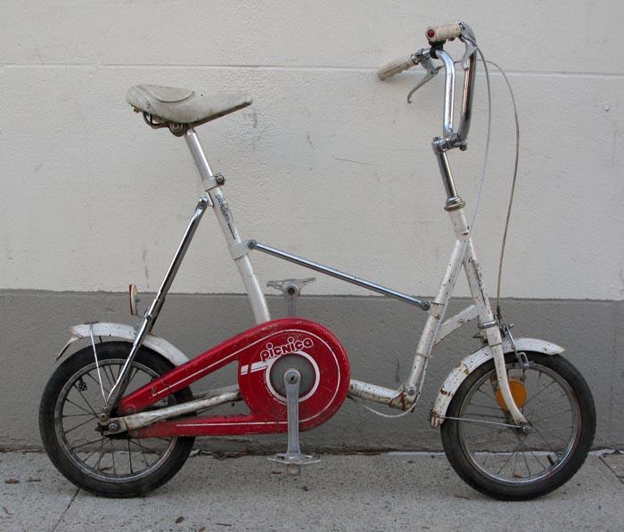 Bikecult Bikeworks Nyc Archive Bicycles Bridgestone Picnica Folding