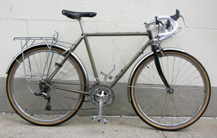bikecult/bikeworks nyc/archive bicycles/trek lugged 650b